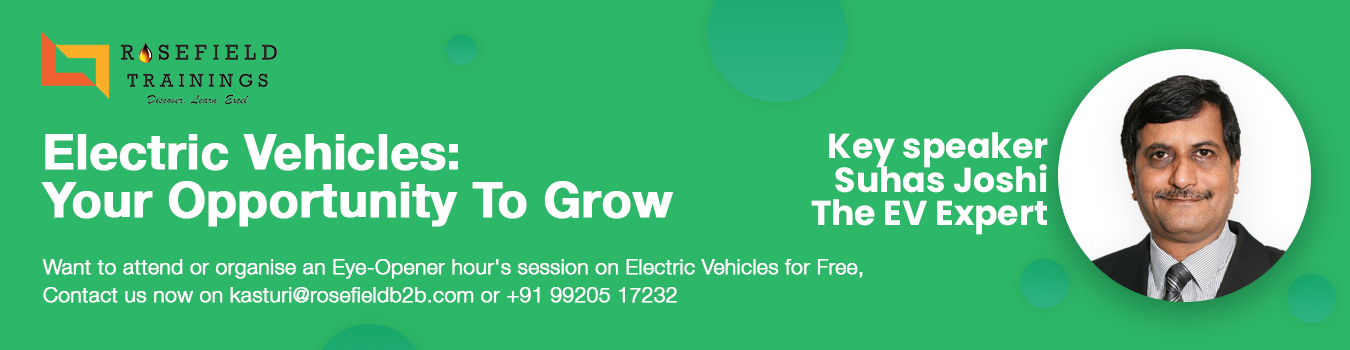 Electric Vehicles : Your Opportunity To Grow